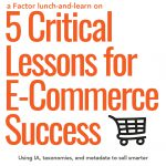 Webinar - 5 Critical Lessons for eCommerce Success